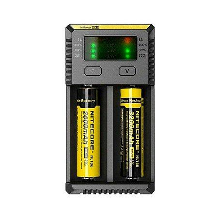 Carregador de Baterias New I2 - Nitecore