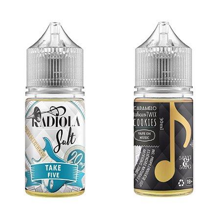 Líquido Juice Salt Take Five - Radiola