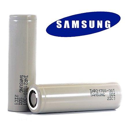 Bateria 21700 Samsung 30T 3000mAh 35A - Samsung