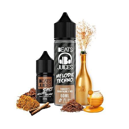 Líquido Juice Salt Melodic Techno Tabaco Ft. Champagne E Mel - Beats