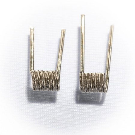 Resistência Staggered Fused Clapton 2x - RBR Coils