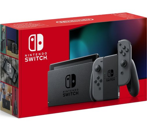 Nintendo Switch Cinza
