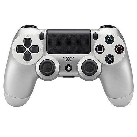 Controle PlayStation 4 Prata