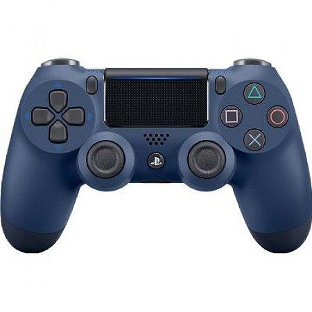 Controle Playstation 4 Azul Escuro