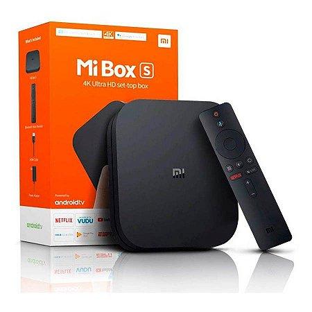 TV Box Xiaomi Mi Box S Ultra HD 4K