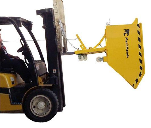 Caçamba Basculante para Empilhadeira Coleta de Cavacos 900kg 0.30m3 CE300 MachMetals