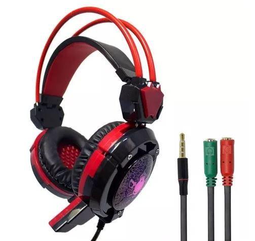 Headset Gamer Com Microfone P/ Celular Pc Xbox One Ps4 X30