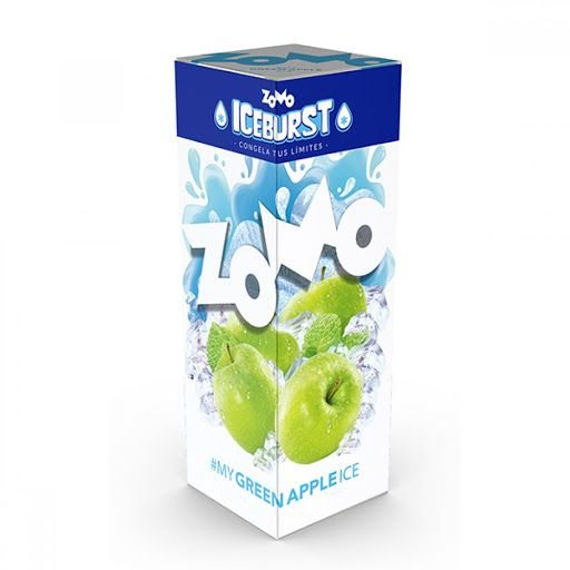 ESSÊNCIA LIQUIDA ZOMO GREEN APPLE ICE 60ML