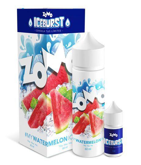 ESSÊNCIA LIQUIDA ZOMO STRAWBERRY ICE 60ML