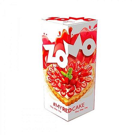 ESSÊNCIA LIQUIDA ZOMO RED CAKE 30ML