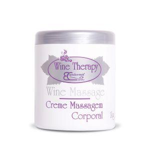 Wine Massage - Creme Massagem Corporal 1 kg