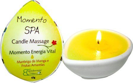 Candle Massage Momento Energia Vital - 65g