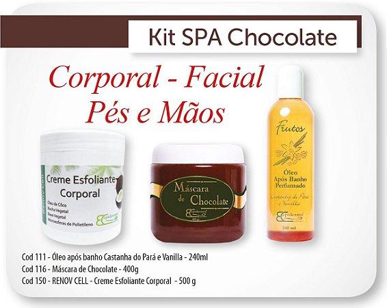 Kit Spa Gourmet de Chocolate