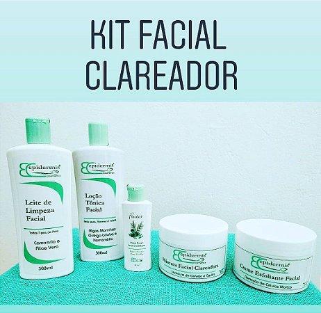 Kit Facial Profissional Clareador