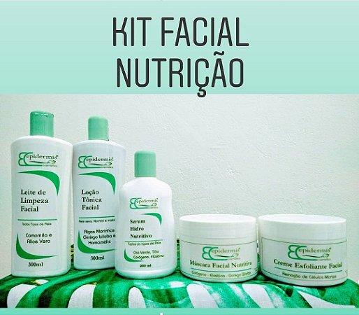 Kit Facial Profissional Nutrição