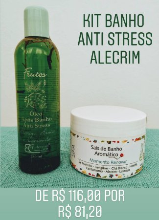 Kit Banho Revigorante Anti Stress