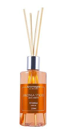 Difusor Por Varetas Aroma Sticks Aromagia - Pitanga 250ml