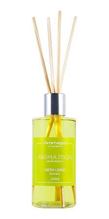 Difusor por varetas Aroma Sticks Aromagia - Capim Limão 250ml