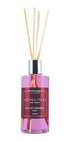 Difusor por varetas Aroma Sticks Aromagia - Flor de Cerejeira 250ml