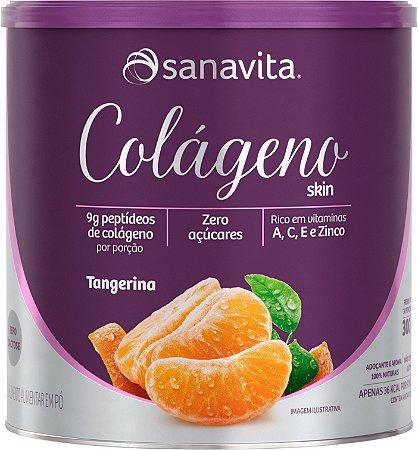 Colágeno Tangerina Sanavita 300G