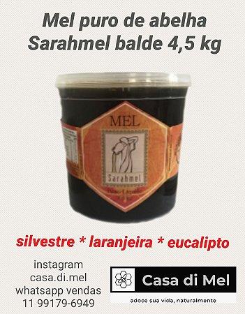 Mel puro de abelha Sarahmel - balde 4,5 kg