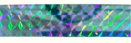 Adesivo Holográfico Em Tiras 11 Metros X 1,9 Cm