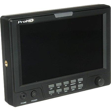 "Monitor de câmera JVC DT-X71CI 7"""