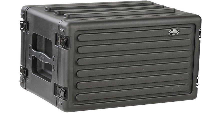 Rack Case SKB 6U com trilhos de aço