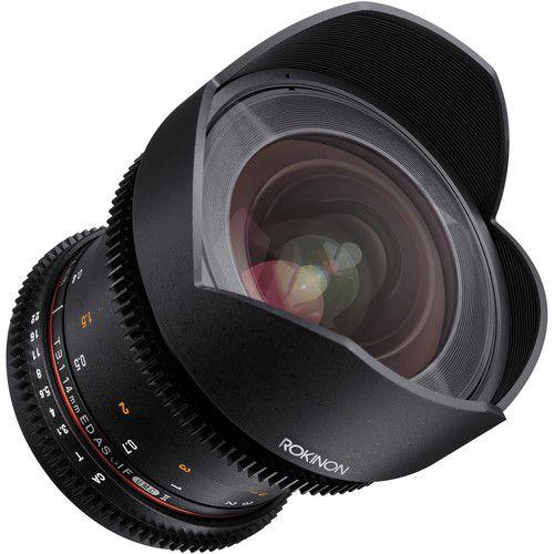 Lente Rokinon 14 mm T3.1 Cine DS MFT para montagem Micro Four Thirds