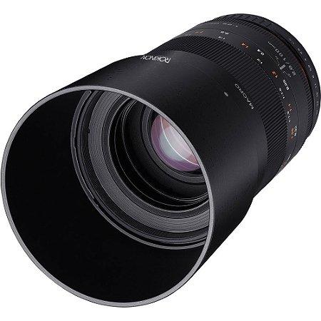 Lente Rokinon macro 100mm f/2.8 para Sony E