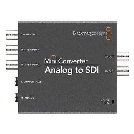 Mini conversor Blackmagic Design analógico para SDI