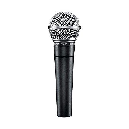 Microfone  Shure SM58-LC  - Original com garantia Shure Brasil