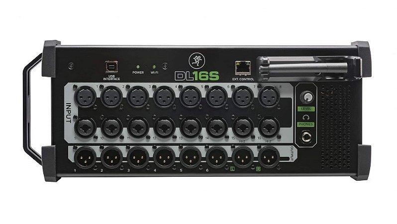 Mixer digital wireless Mackie 16 canais DL16S