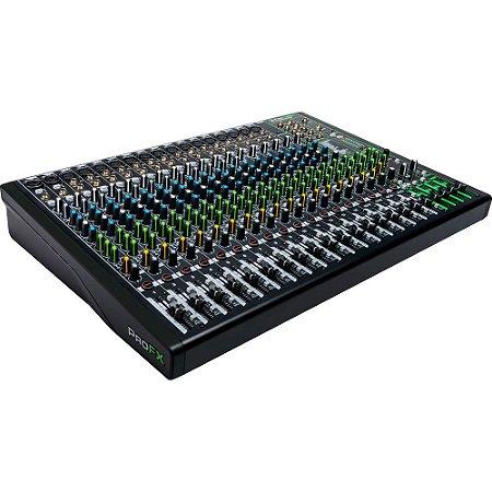 Mixer Mackie ProFX22v3 -  22 canais com FX embutido