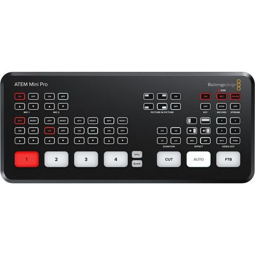 Switcher ATEM Mini PRO + Curso Online Grátis