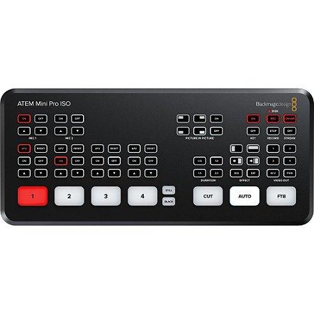 Switcher  ATEM Mini Pro ISO + Curso Online Grátis