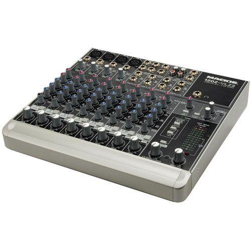 Mixer Mackie 1202-VLZ3 de doze canais (semi-novo)