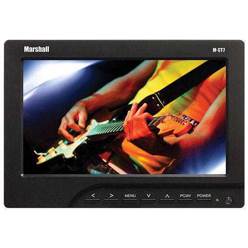 "Monitor portátil Marshall Electronics M-CT 7"" (semi-novo)"