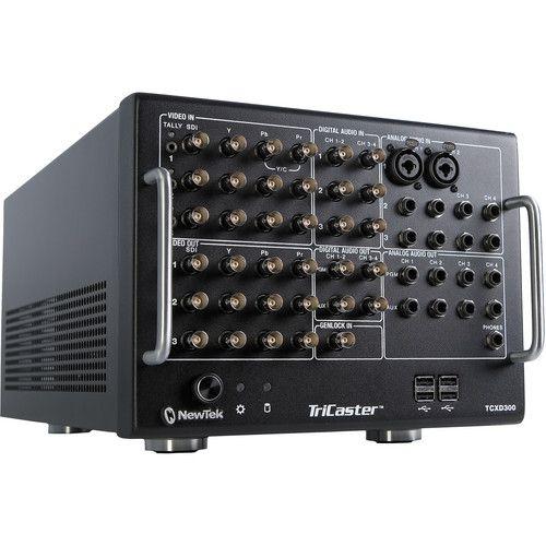 NewTek TriCaster TCXD300+ Controladora LV 11  (semi-novo)