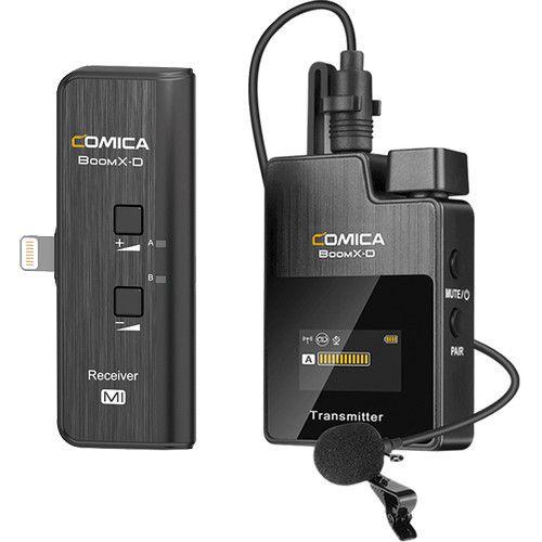Microfone de Lapela Comica BoomX-D MI1 para Iphone