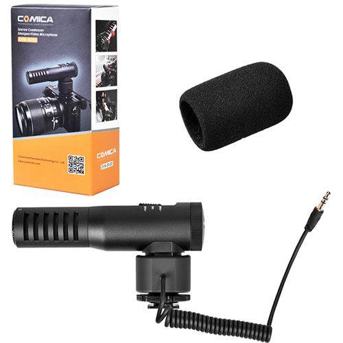 Microfone Shotgun Comica CVM-SV20