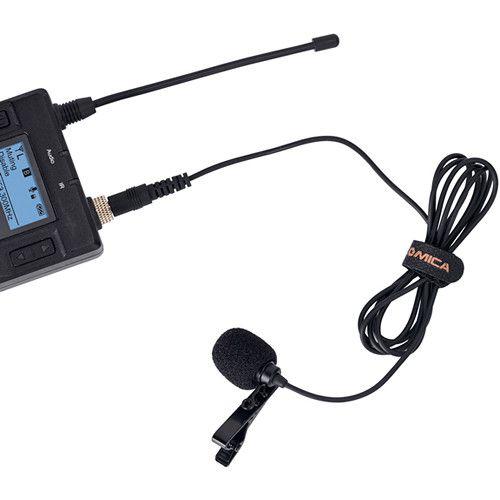 Microfone de Lapela Comica CVM-M-O1-  compatível com Sennheiser ME 2-II