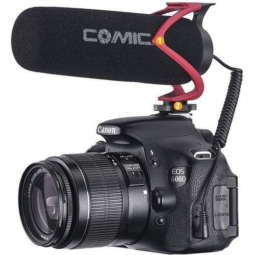 Microfone Shotgun Comica CVM-V30 LITE R