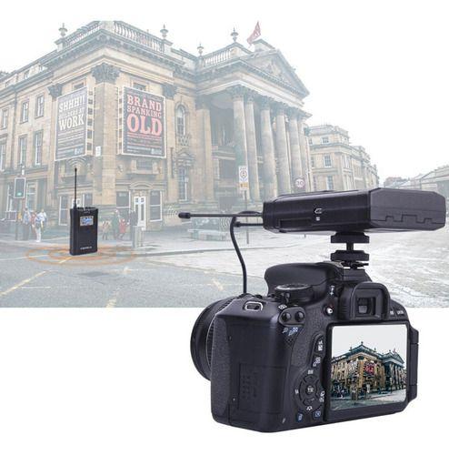 Microfone de lapela wireless Comica CVM-WM100 PLUS