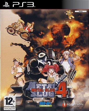 metal slug 4 ( ps2 classic) japanese versão -PS3 PSN mídia digital