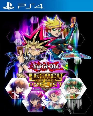 YUGI-OH! LEGACY OF THE DUELIST LINK EVOLUTION PS4 E PS5 PSN MÍDIA DIGITAL