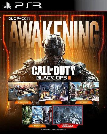 DLC Awakening Call of duty black ops 3- PS3 PSN Mídia digital