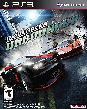 RIDGE RACER UNBOUNDED PS3 PSN Mídia digital