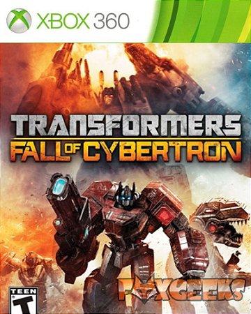 TRANSFORMERS CYBERTRON EXPERIENCE XBOX 360 MÍDIA DIGITAL