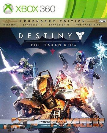 DESTINY: THE TAKEN KING - EDIÇÃO COLECIONADOR XBOX 360 MÍDIA DIGITAL